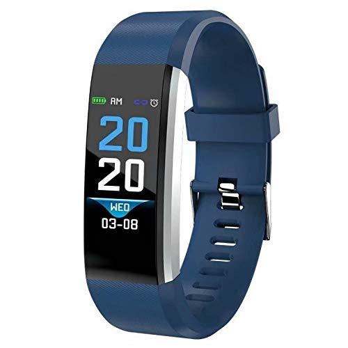 DOMDIL-Fitness Tracker con Cardiofrequenzimetro e Monitor del sonno, Activity Tracker con Display a Colori Smart Watch… 1