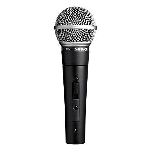 Shure SM58S Microfono Professionale con Switch On/Off