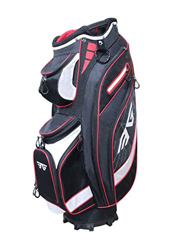 Eagole Super Light Golf Cart Bag,14 way Top and Full Length Divider ,10 Pockets (Black)