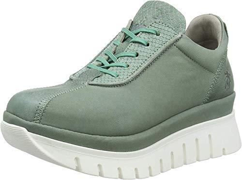 FLY London Besi203fly, Zapatillas Mujer, Verde (Jade Green/Green 002), 42 EU