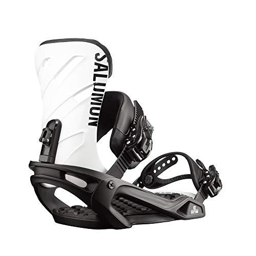 Salomon Rhythm Snowboard Bindings Black/White Sz M (7-9.5)