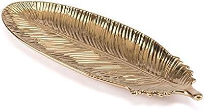Amazon.com: plutus brands bandeja de aluminio con acabado ...