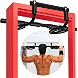 LINODI Pull up Bar for Doorway, Strength Training Pull-up Bars for Home Gym Exercise, Multi-Functional Door Pull Up Chin up Bar No Screws, Portable Heavy Duty Doorway Trainer(180-days Free Return)
