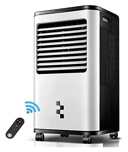 Aire acondicionado portátil móvil Aire acondicionado Aire Cooler Aire Fan Refrigeración Humidificador Purificador de aire DIRIGIÓ Modo de sueño Control remoto 18 horas Temporizador, 150W