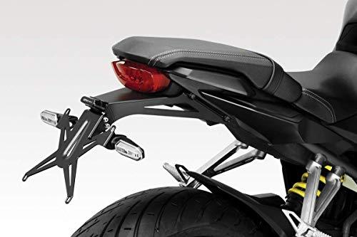 CBR650R 2019/20 - Kit Kennzeichenhalter (R-0917) - Einstellbare Nummernschild Halter - inkl. LED und Hardware-Bolzen - Motorradzubehör De Pretto Moto (DPM Race) - 100% Made in Italy