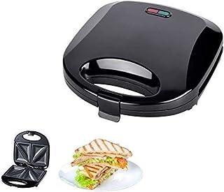 aasdf Grille-Pain Sandwich 750W sans fumée Panini Maker Panini Press Grill, Sandwich Maker Plaques à revêtement antiadhési...