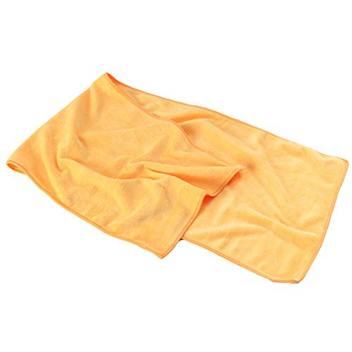 Cnwang Mikrofasertuch in 3 Farben + Tasche - Klein, Leicht Und Extrem Saugfähig - Reisetuch Aus Mikrofaser, Strandtuch, Mikrotuch, Sporttuch, 100x30cm,B