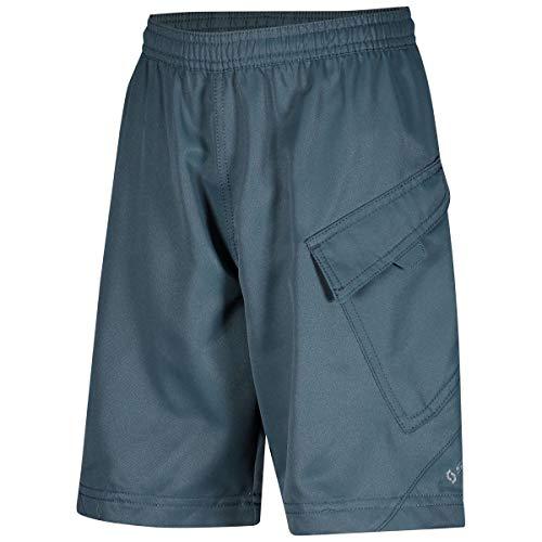 Scott Trail 10 Junior kinderfiets korte broek (incl. binnenbroek) blauw 2020