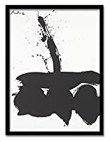 インテリアアート OBERT MOTHERWELL Sumurai N 1 1974 ヒモ付 AB-13236 kar-6303769s1