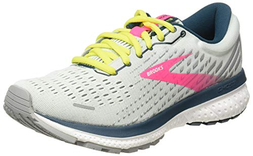 Brooks Damen Ghost 13 Laufschuh, Ice Flow/Pink/Pond, 38.5 EU