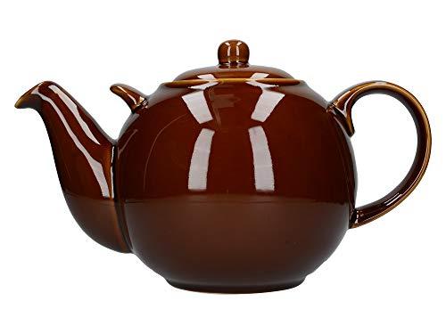 London Pottery Théière 10 tasses Marron