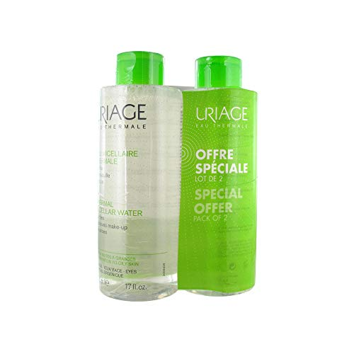 Uriage Acqua Micellare Termica Per Combinazione Per Pelle Grassa, 500 ml, Pa