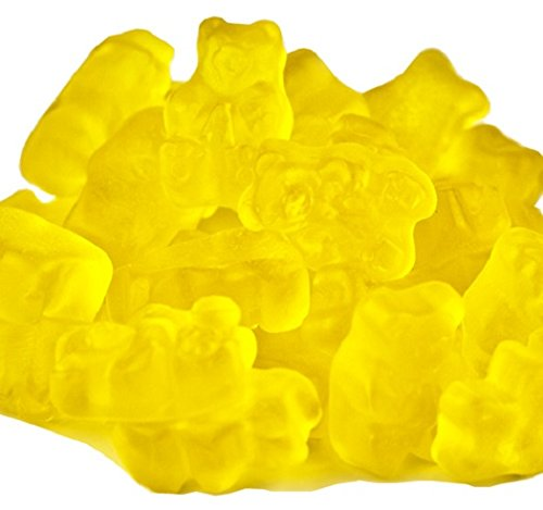 Mango Gummi Gummy Bears Candy 5 Pound Bag (Bulk)