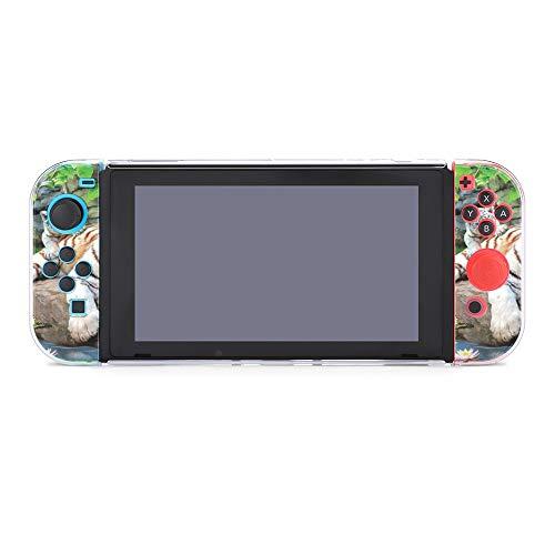 Funda para Nintendo Switch Tiger Family Juego de 5 piezas Funda protectora compatible con Nintendo Switch Game Console