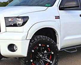 RDJ Trucks HWY-PRO OE Style Fender Flares - Fits Toyota Tundra 2007-2013 - Paintable Smooth OE Black