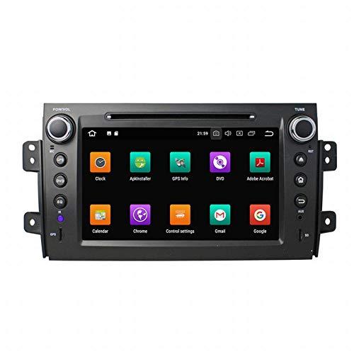 WHL.HH para Suzuki SX4 2006-2012 Androide 10 Auto Radio Multimedia Jugador GPS Navegación HD Tocar Pantalla Navegación por satélite Cabeza Unidad Apoyo SWC Bluetooth WiFi Video Recibir