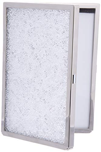 Swarovski Crystalline Picture Frame Bilderrahmen Kristallen, transparent/Silber, 6-1/8