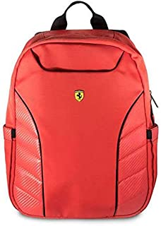 "Ferrari Scuderia New Simple Version Backpack 15"" - Red"