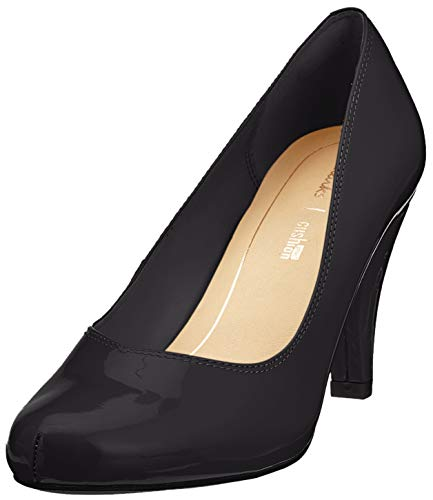 Clarks Damen Dalia Rose Pumps, Schwarz (Black Patent), 39.5 EU