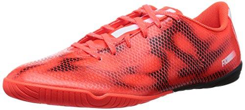 Adidas F10 Indoor, scarpe da calcio da ragazzo, Arancione (arancione), 46 EU