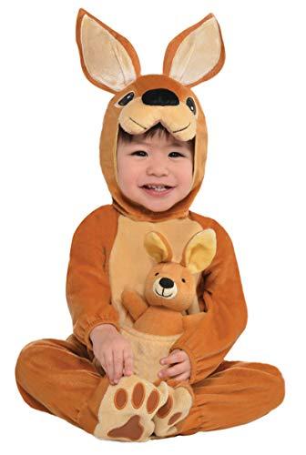 Jumpin' Joey - Disfraz infantil de canguro (12 a 24 meses)