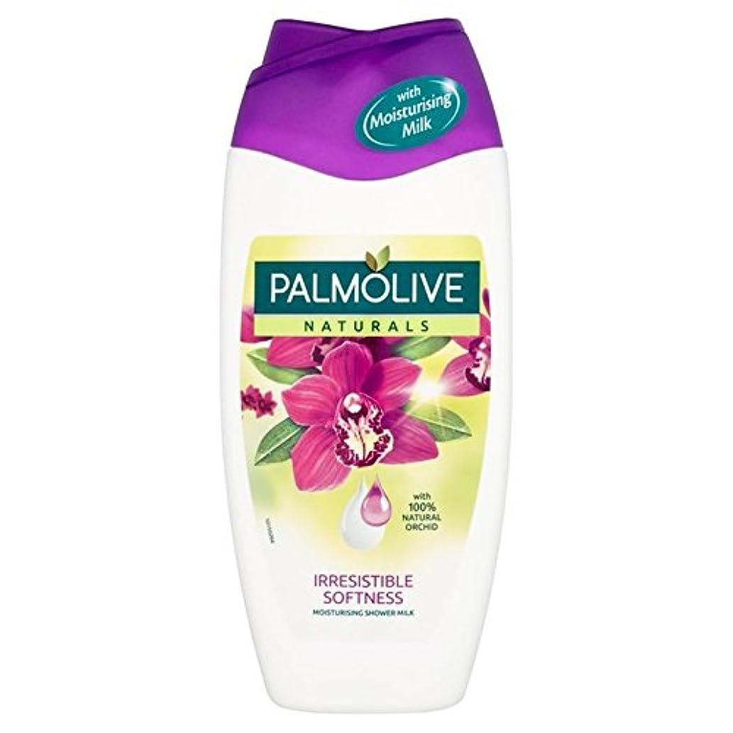 時計回りぴったりアクセスできないパルモナチュラルシャワー黒蘭の250ミリリットル x4 - Palmolive Naturals Shower Black Orchid 250ml (Pack of 4) [並行輸入品]