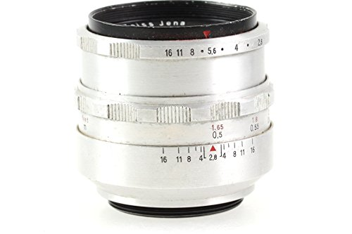 Zeiss Carl JENA Tessar 50mm 50 mm 2.8/50 2.8 1:2.8 - M42 M 42 Anschluss