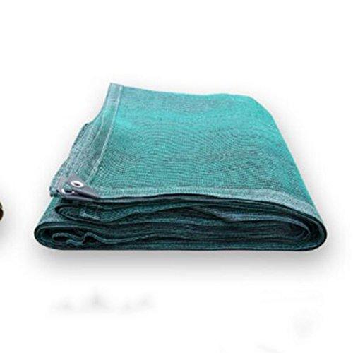 Sunblock Tissu d'ombre de soleil de tissu d'ombre de 90% avec des oeillets pour l'auvent de couverture de pergola Taille facultative (Couleur : Green, taille : 4×6M)