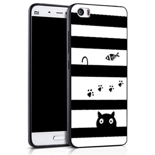Prevoa ® 丨Xiaomi Mi5 Funda - Colorful Silicona Protictive Carcasa ...