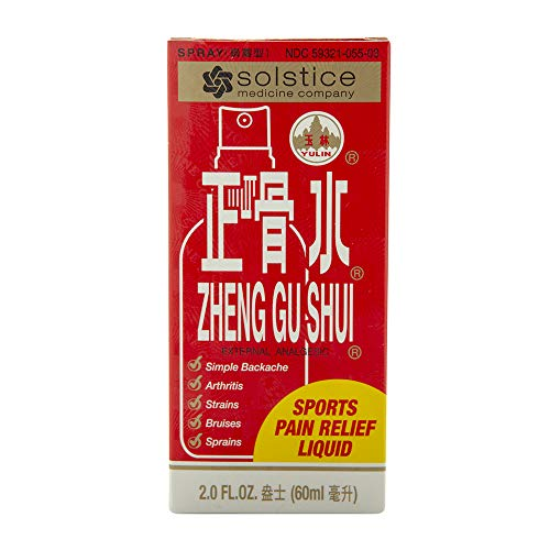 SOLSTICE MEDICINE COMPANY Zheng Gu Shui External Analgesic Lotion (Spray)(2.0 Fl Oz)