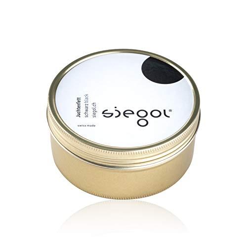 Siegol® Palmenwachsschuhcrème 150 ml Schuhcrème Nr. 3 - Hartwachs (mittelbraun)