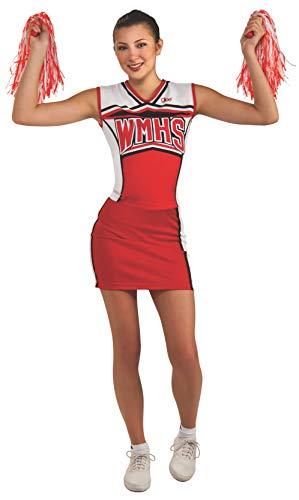 Rubie's Costume Women's Glee Cheerios Teen Cheerleader Costume, Multi, Teen