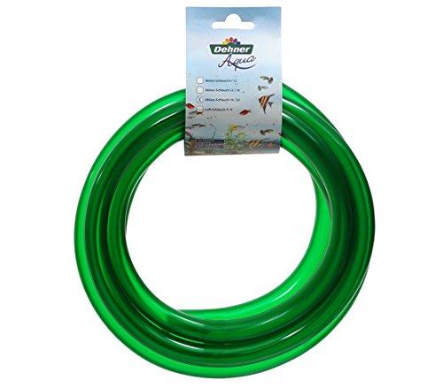 Dehner Aqua Aquarienzubehör, Ablass-Schlauch, Ø 16 mm, Länge 3 m, grün