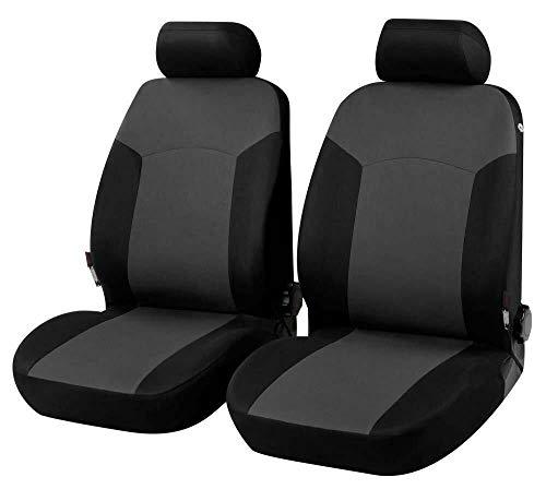 Coprisedili Anteriori Pajero PININ Versione (1998-2006) compatibili con sedili con airbag, con Fori per i poggiatesta e bracciolo Laterale Articolo K79