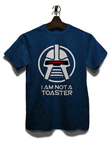 Cylon I Am Not A Toaster T-Shirt dunkelblau M