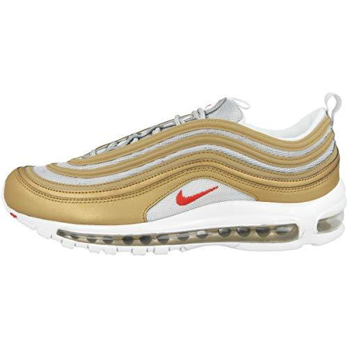 Nike Air Max 97 SSL, Scarpe da Ginnastica Basse Uomo, Oro (Gold Bv0306-700), 42.5 EU