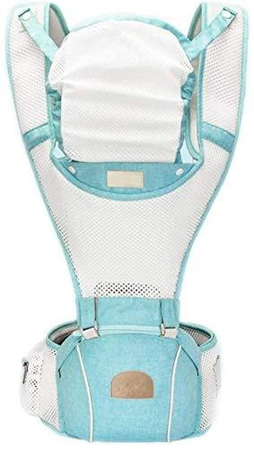 HZYD -Baby réglable Porte-bébé avec housse de pluie et sac à dos, facile à transporter les nourrissons, convertible, tournée vers l'extérieur, Cool (Couleur: Vert) (Couleur: Vert) (Couleur: Vert) (Cou