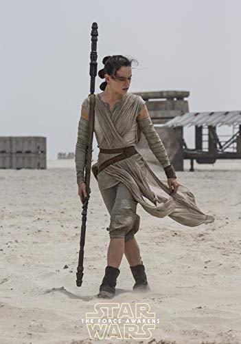 Daisy Ridley Star Wars: el Despertar de la Fuerza Póster Foto Camisa Juguete Rey 001 (A5-A4-A3) - A3