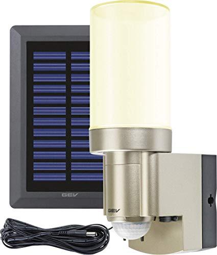 GEV SOLAR LED-lamp LPL 14831, plastic, 2G7, 0,5 W, goud, 12 x 7 x 21 cm