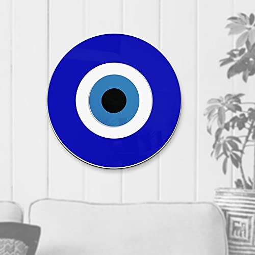 """4ArtWorks - Blue Evil Eye Wall Decor Hanging Ornament 