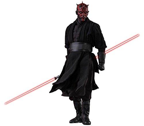 Hot Toys Figura Darth Maul 29 cm. Star Wars Episodio I. con luz. DX Series. Escala 1:6