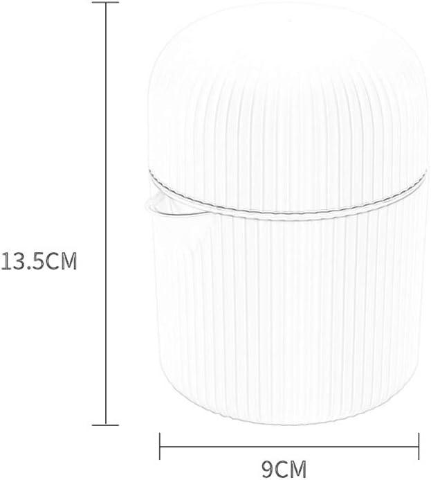 Exprimidor manual RENRUIRUI Exprimidor De Cítricos Y Naranjas Prensa Rotativa De Tapa Manual for Viajar A Casa Al Aire Libre con Filtro Y Contenedor (Color : Pink) White