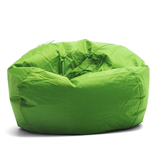 Big Joe Classic 98 Bean Bag Chair, 33'L x 33'W x 20'H, Spicy Lime