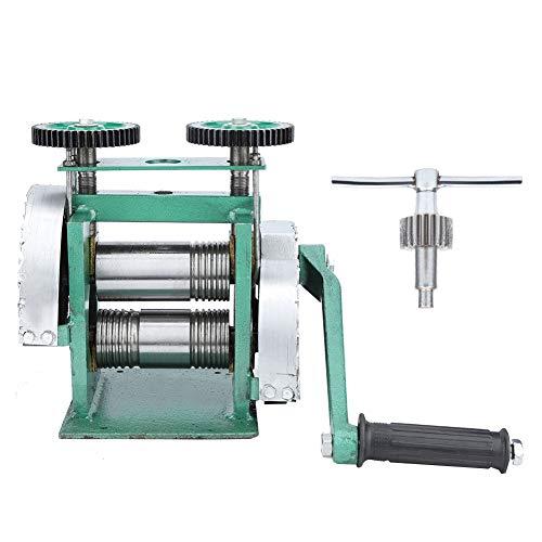 Salmue Máquina Profesional de laminación, máquina Manual de laminación, máquina de Prensa de tabletas Manual y máquina de laminación combinada para joyería de Metal