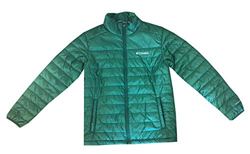 Columbia Mens Crested Butte II Omni-Heat Jacket (XXL, Forest Green)