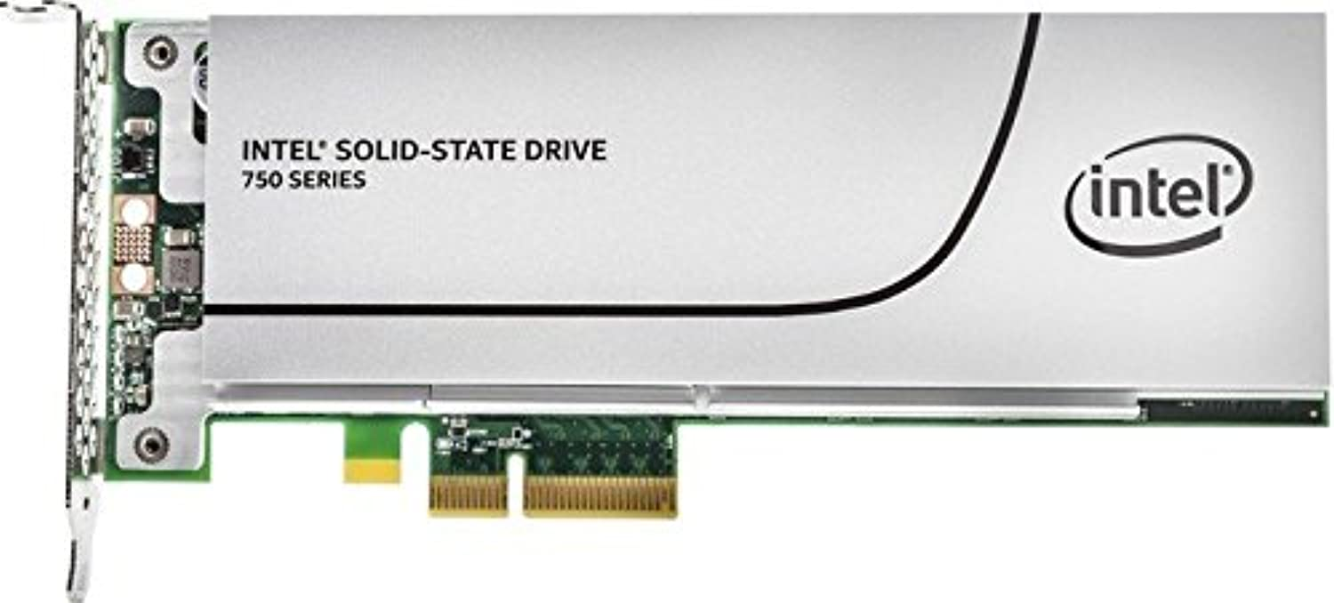 インテル SSD 750 Series 400GB MLC Full Height PCIe 3.0 BLK NVMe SSDPEDMW400G401