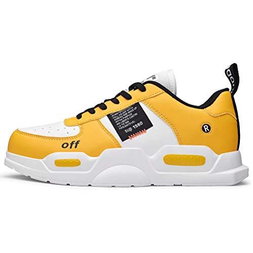 Zapatillas de Deporte de Moda para Hombre Zapatos cálidos de Invierno Botas de Nieve Zapato Deportivo para Caminar Informal