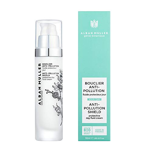 Moisturizing Anti-pollution Organic face skincare Alban Muller Anti-pollution shield - Cosmos Organic certified by Ecocert - 50 ml 1.69 US fl. Oz