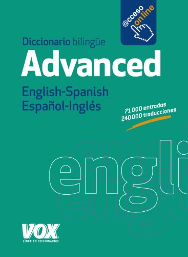 Diccionario Advanced English-Spanish / Español-Inglés (VOX