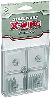 Fantasy Flight Games SWX48 Star Wars: X-Wing - Clear Bases & Pegs Board Game